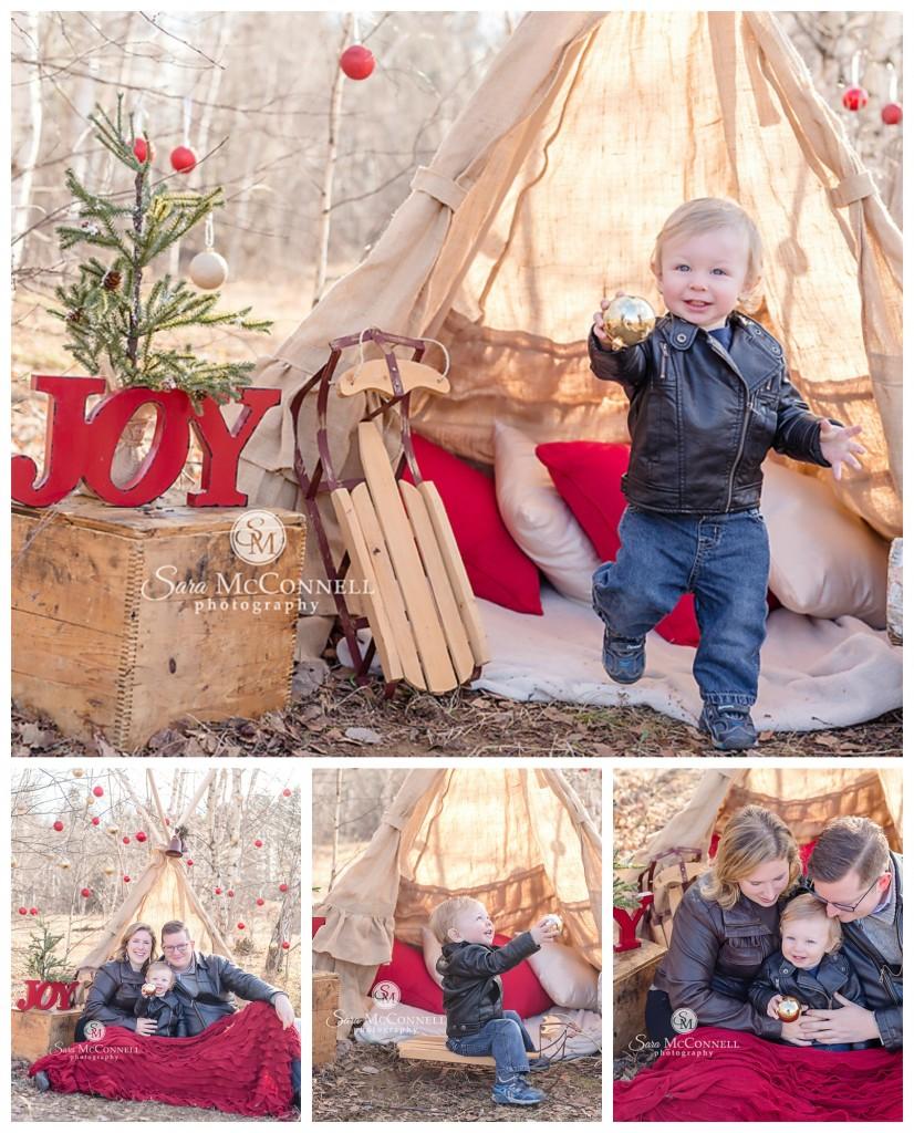 ottawa family photos winter wonderland