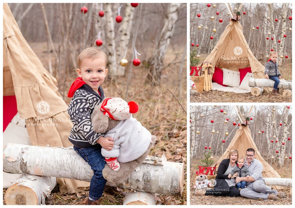 winter family session in ottawa