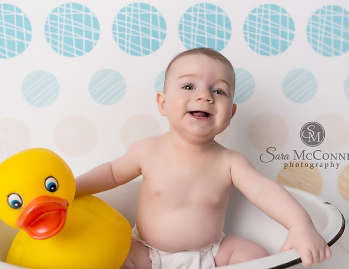 Baby's Extraordinary First Year Sessions | Splish Splash