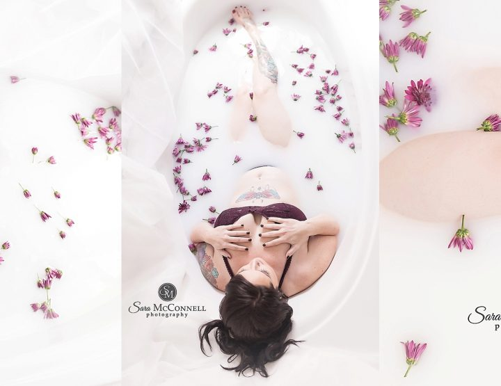 Limited Edition Milk Bath Boudoir | Ottawa Photographer
