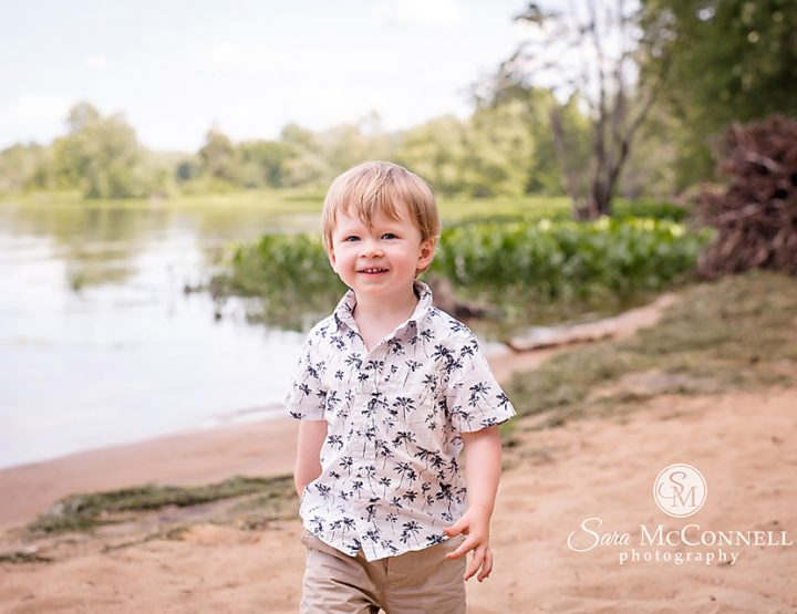 Ottawa Child Photographer | Why his mom loved the beach