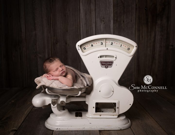 Ottawa Newborn Photographer | The Special Meaning of the Scale
