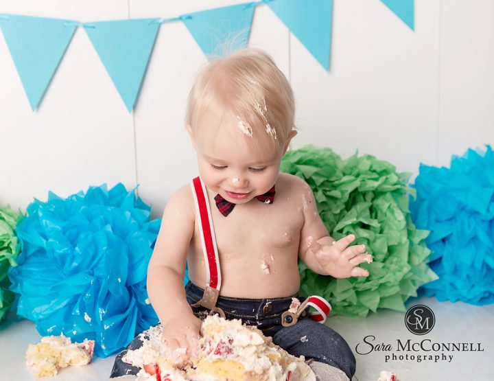 Ottawa Child Photographer | Smashing the cake
