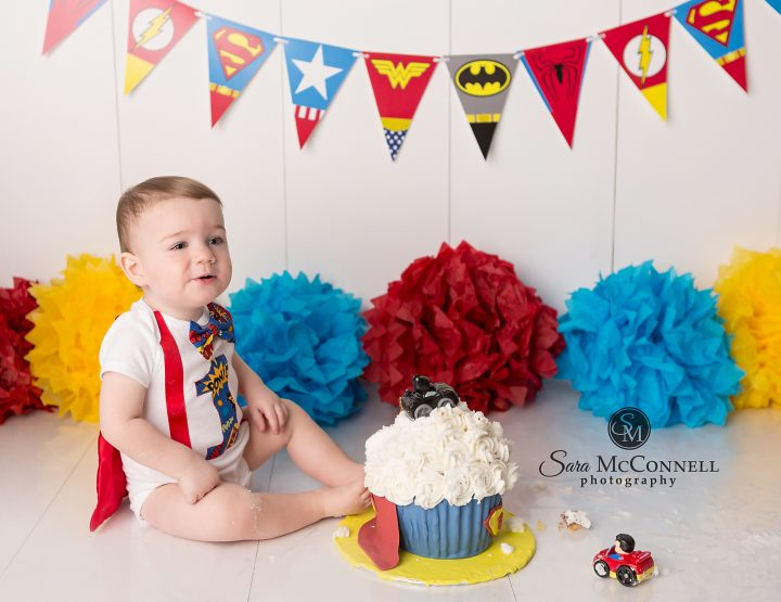 Ottawa Child Photographer | A Super Cake Smash Session