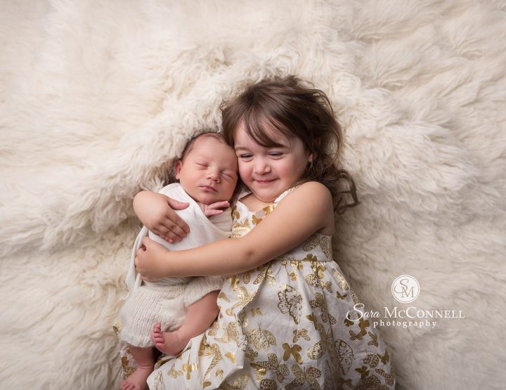 Ottawa Newborn Photos | Favourite photo bursting with pride