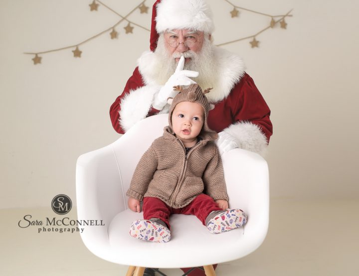 Ottawa Baby Photos   Santa Baby