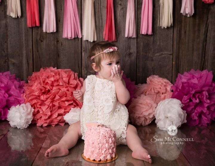 Ottawa Baby Photographer | Why she booked a cake smash session