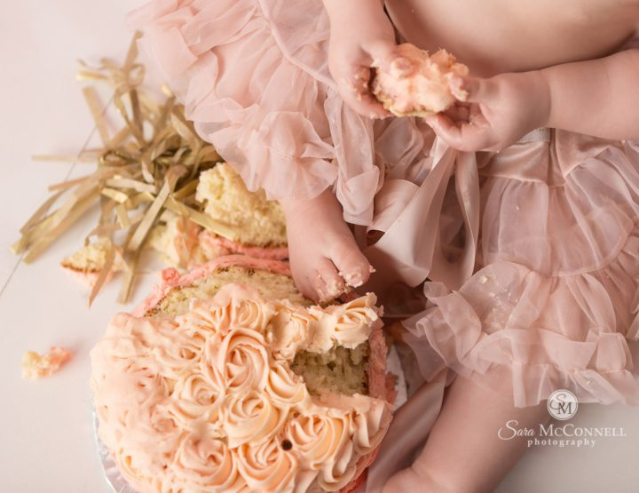Ottawa Baby Photographer | Cake Smash in a tutu