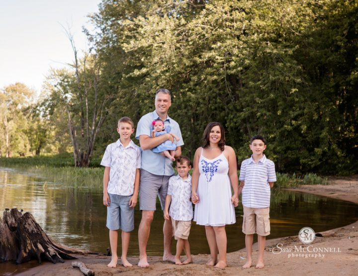 Ottawa Family Photographer   Three brothers and a sister