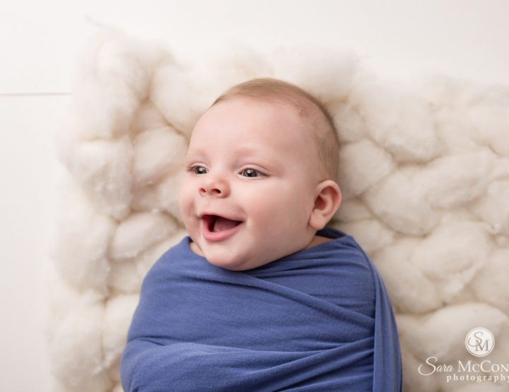 Ottawa Baby Photographer | Then and Now (4 months old)