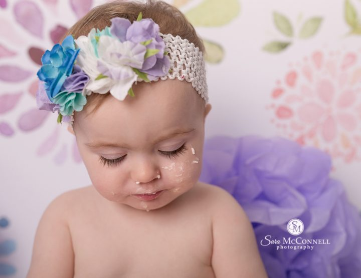 Ottawa Baby Photographer | A True Cake Smash