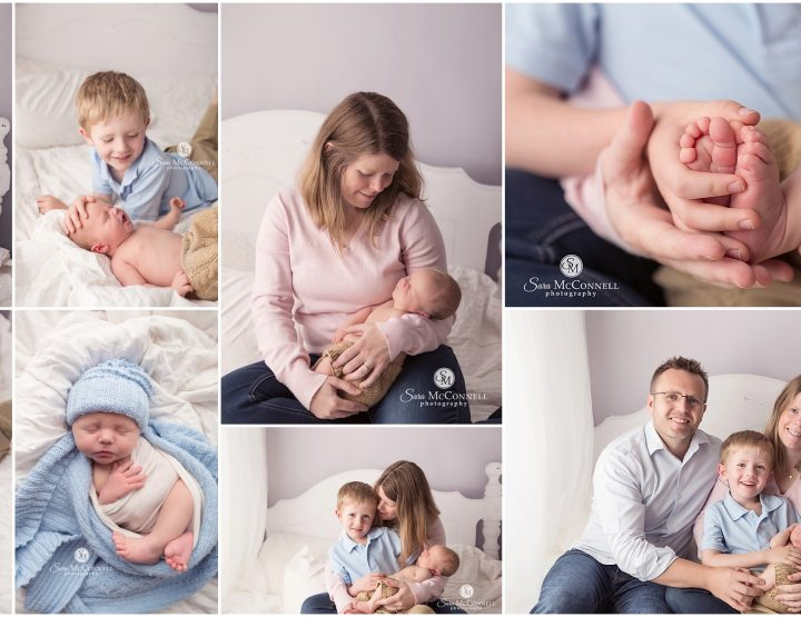Newborn Sessions on the Studio Bed Set | Ottawa Newborn Photographer