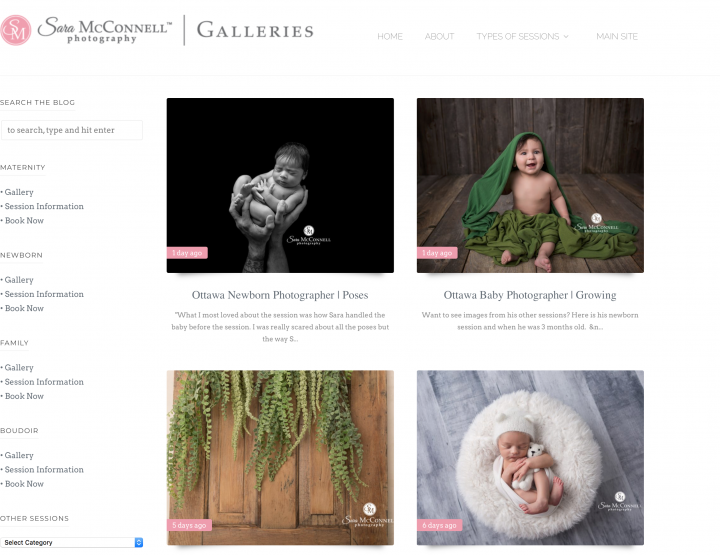 What a Surprise! Sara McConnell Photography Blog Ranked #7