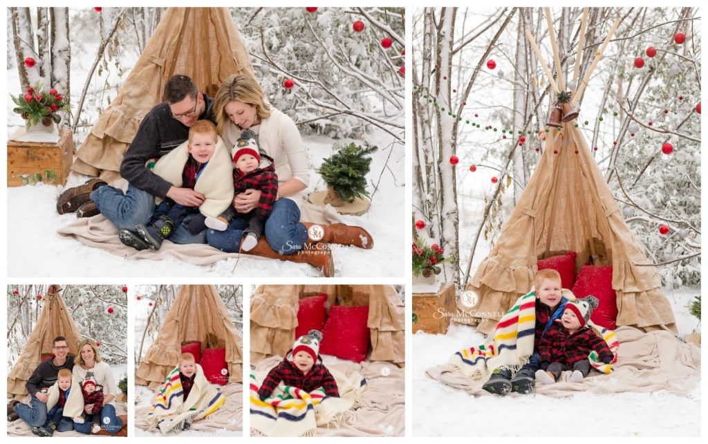 outdoor holiday photos in ottawa