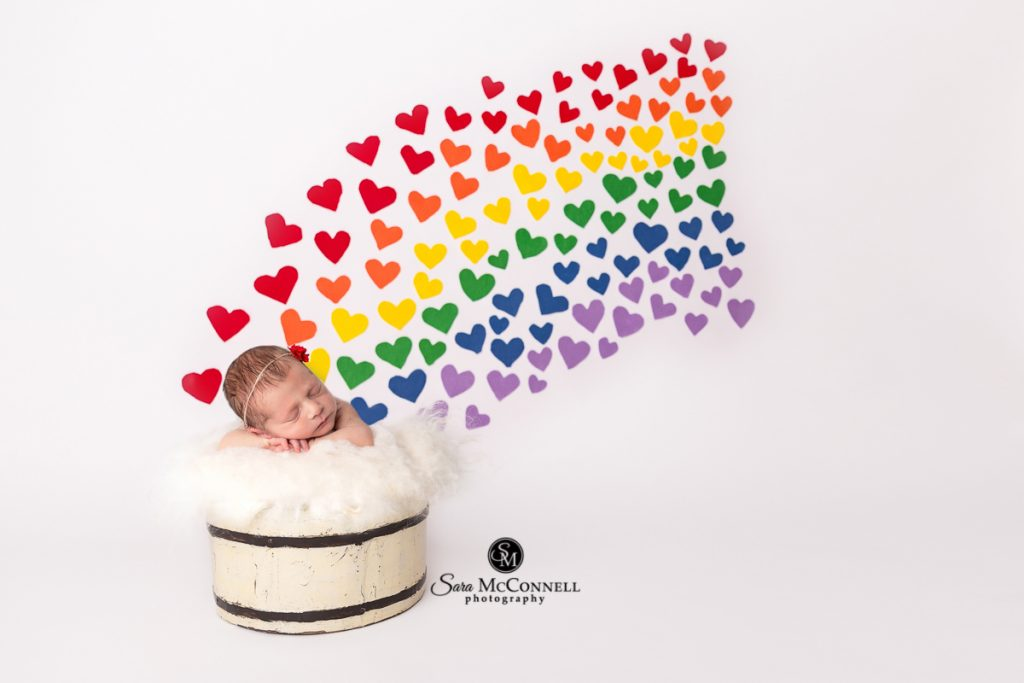 ottawa baby photos rainbow