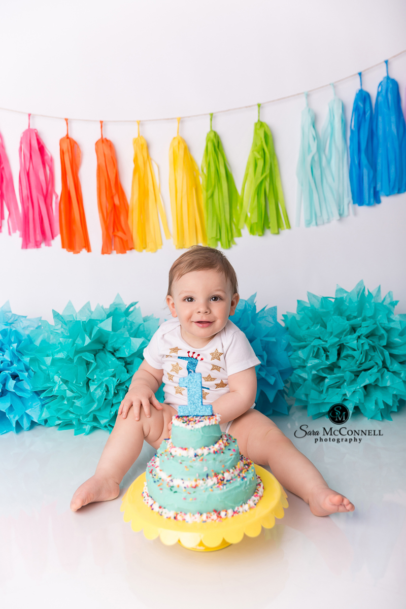 Ottawa baby photos, Birthday Session - Sara McConnell Photography