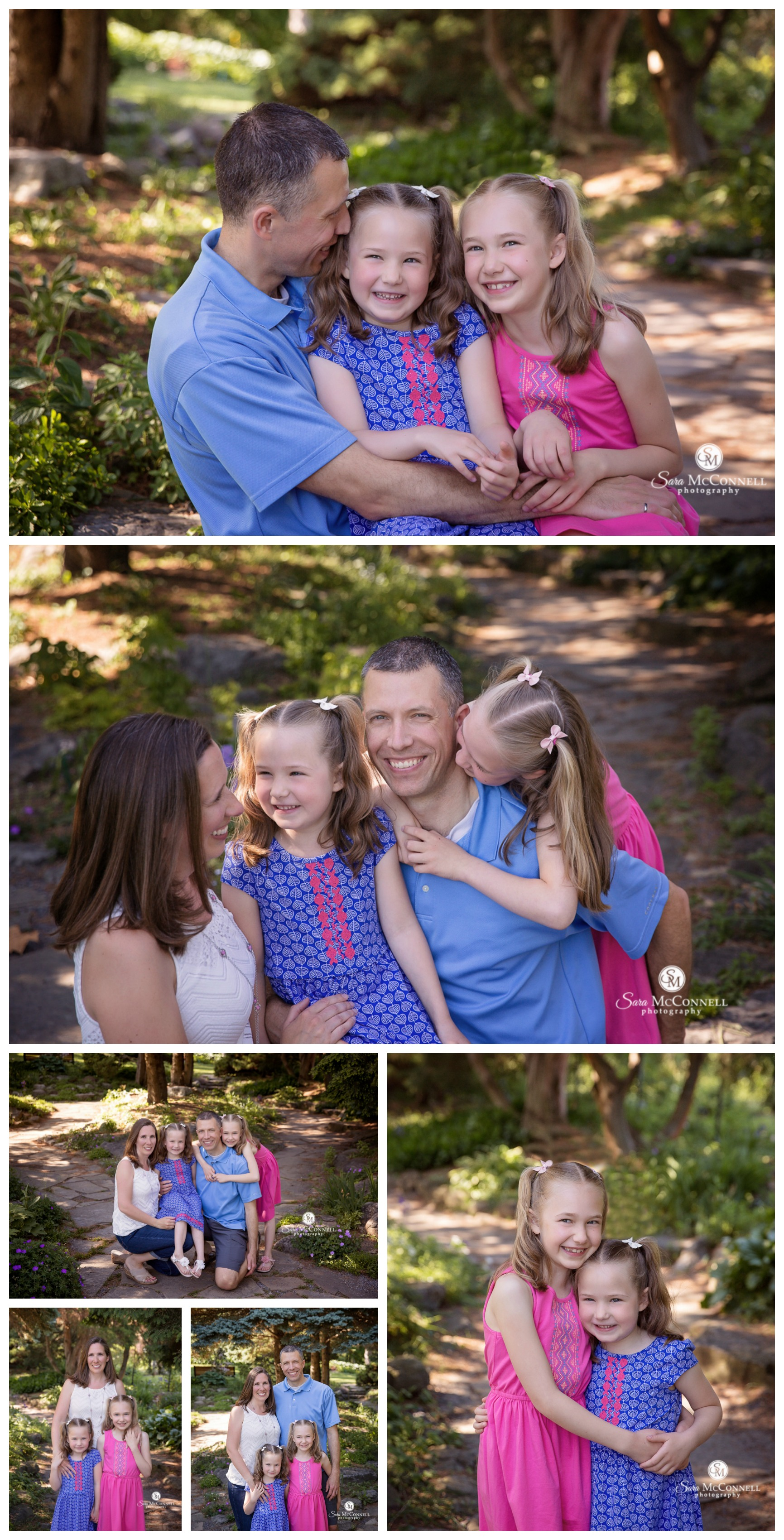 Ottawa Family Photos - Spring photos with parents and kids by Sara McConnell Photography