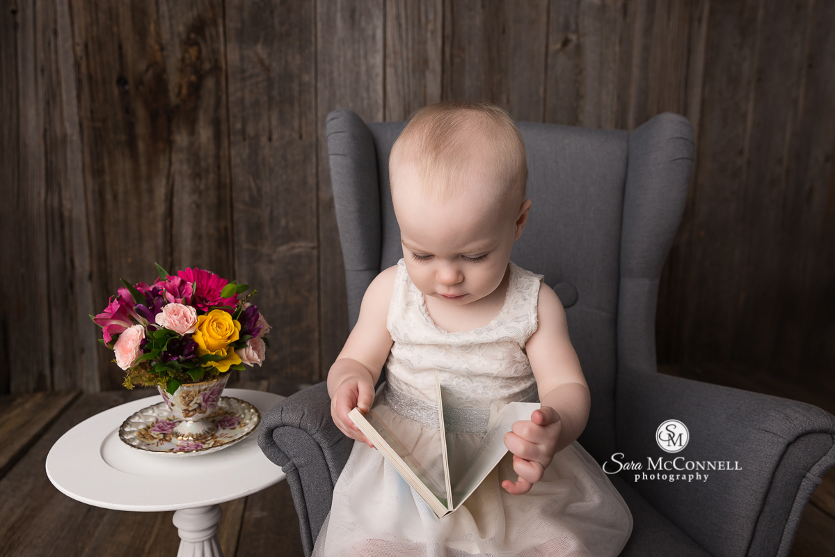 Ottawa Baby Photos by Sara McConnell Photography celebrating a first birthday