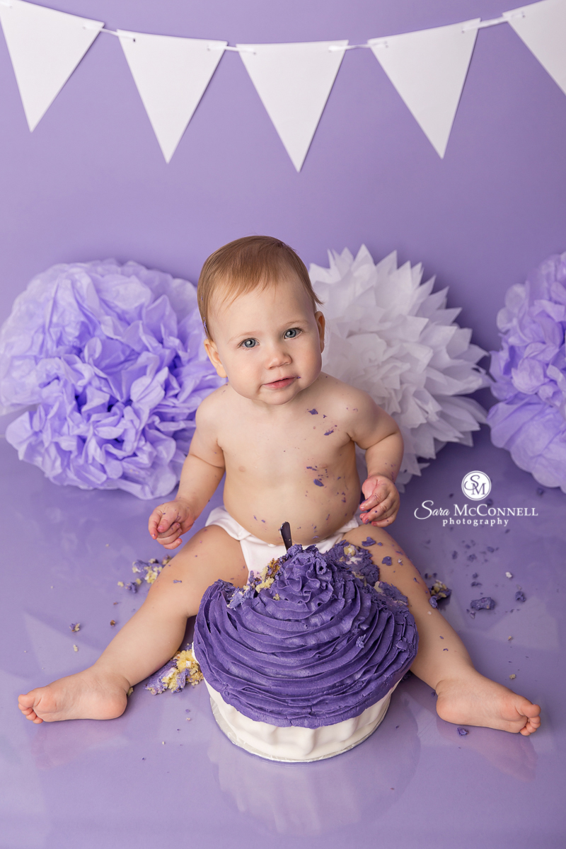 Ottawa Baby Photos by Sara McConnell Photography - First Birthday Photos