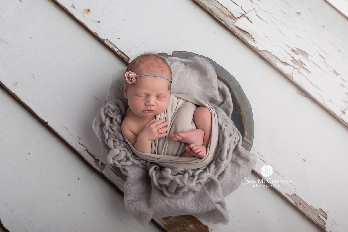 Newborn photos by Sara McConnell Photography
