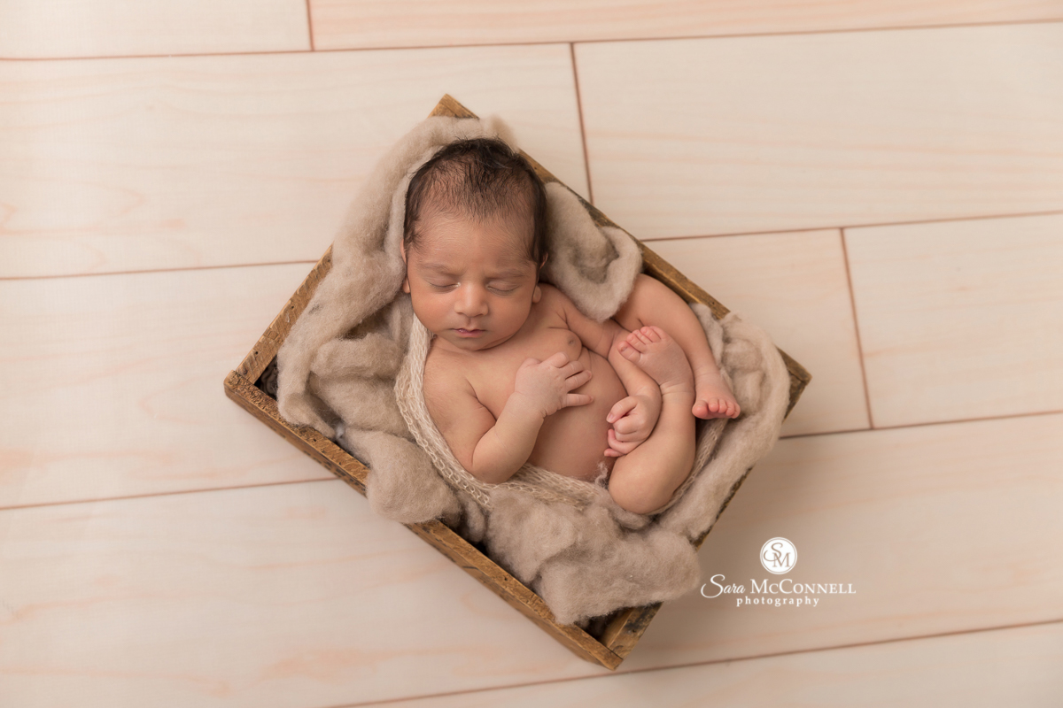 Ottawa Newborn Photo - Newborn baby