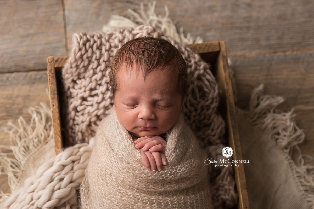 Ottawa Newborn Photo by Sara McConnell Photography - newborn baby sleeping