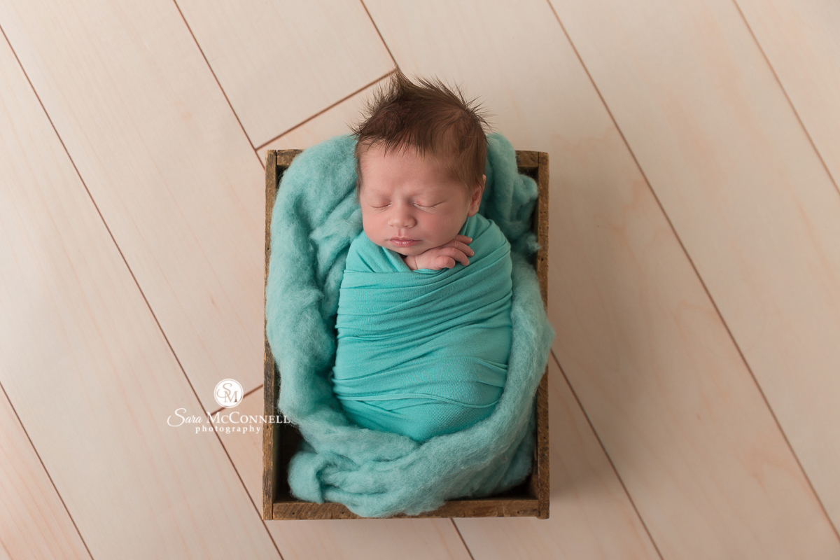Ottawa Newborn Photos by Sara McConnell Photography - baby sleeping