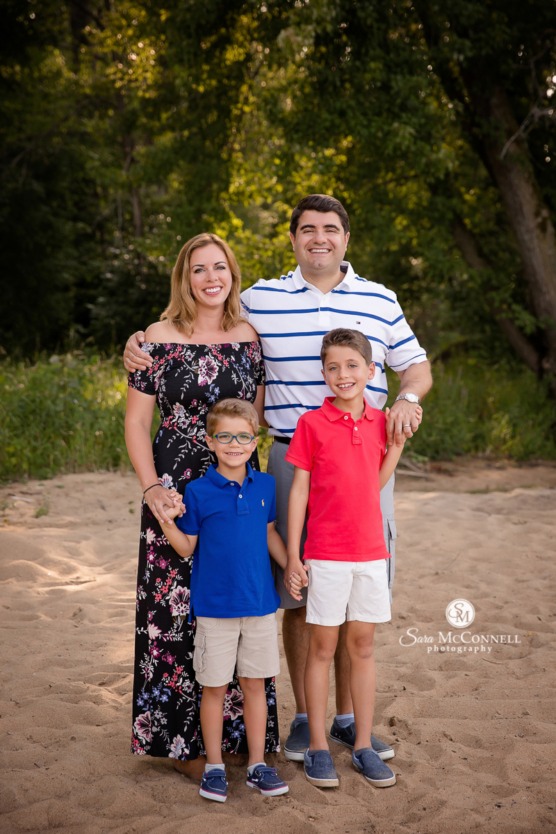 Ottawa Family Photos on the beach by Sara McConnell Photography