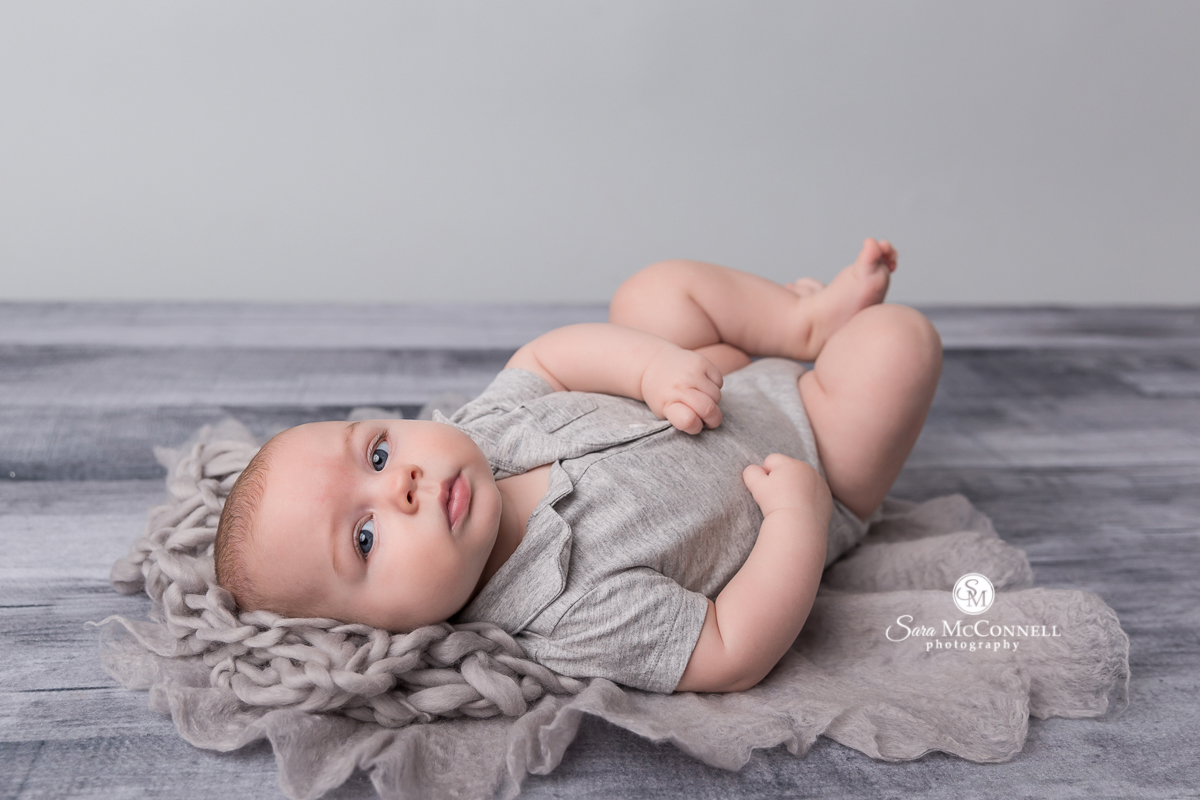 Ottawa baby photos - 4 month old