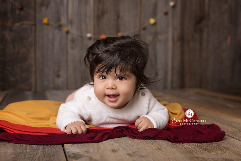 Ottawa baby photographer fall baby photos sara mcconnell