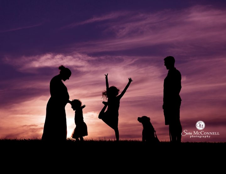 Ottawa Family Photographer | Sunsets are for family fun