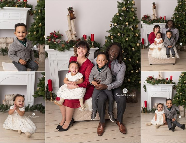 Holiday Photo Sessions In the Studio of Sara McConnell Photography