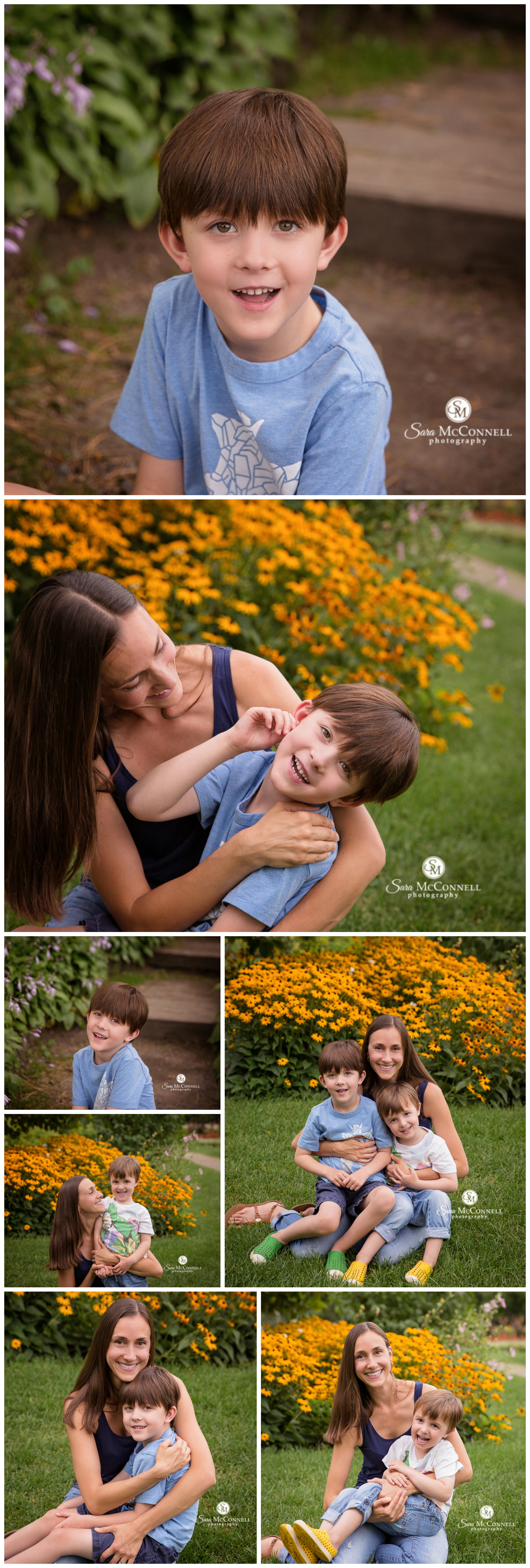 Summer family photos by Sara McConnell Photography