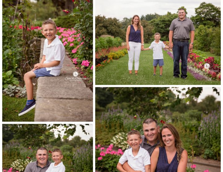 Summer Blooms Family Photos
