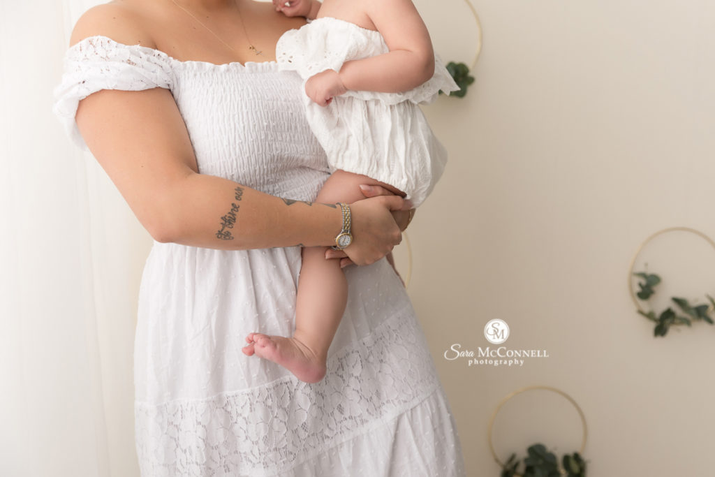 for Mother's Day photos with Sara McConnell Photography