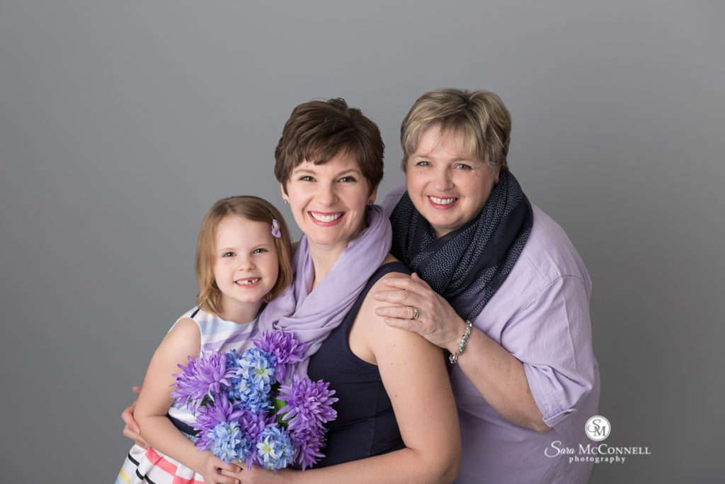 Mother's Day photos with Sara McConnell Photography
