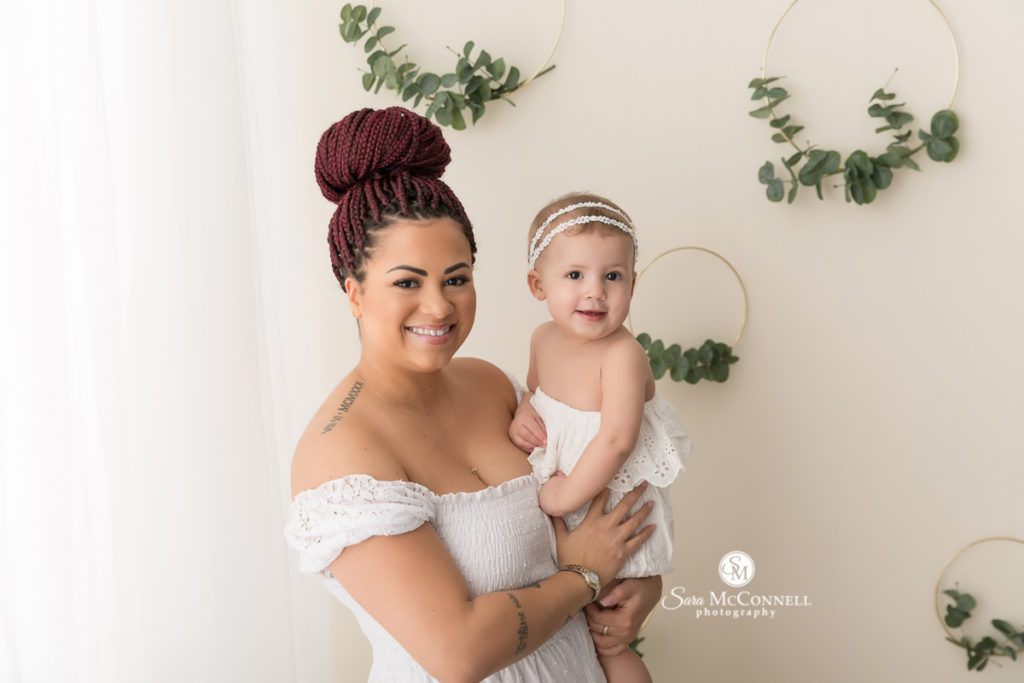 mother and child  for Mother's Day photos with Sara McConnell Photography