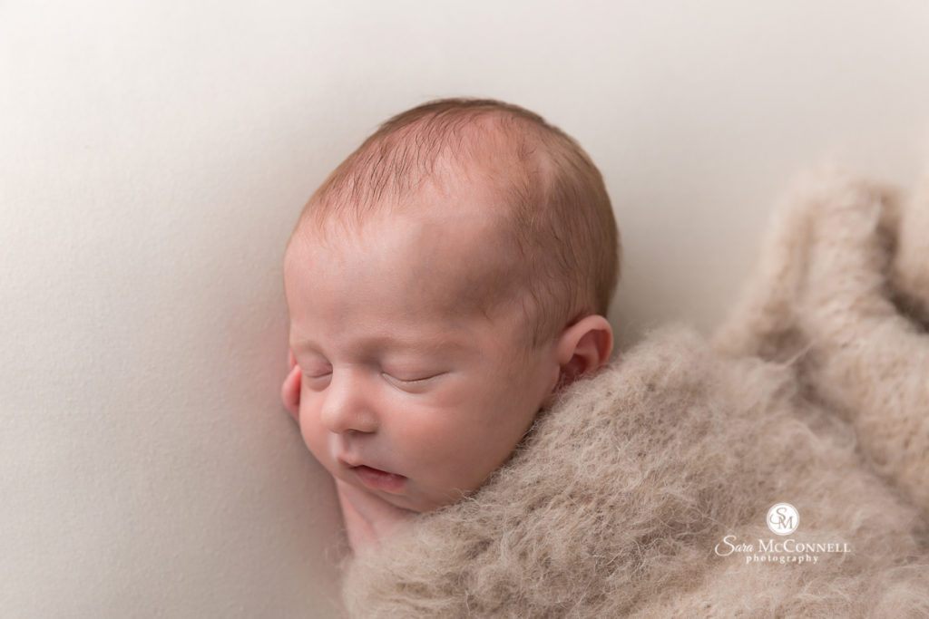 sleeping baby newborn photo by sara mcconnell photography