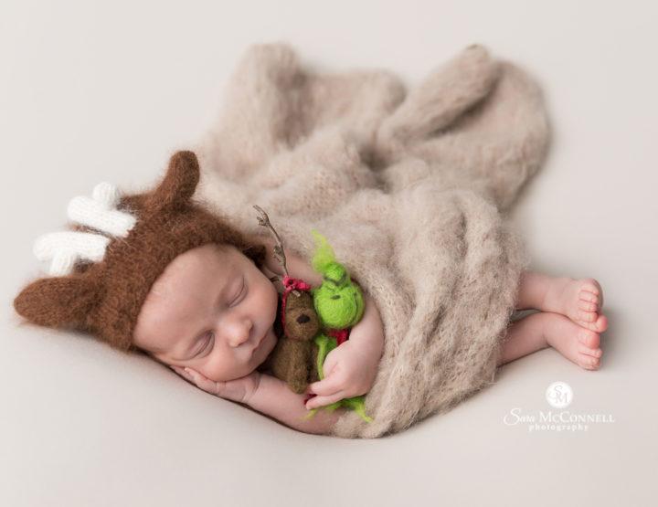Ottawa Newborn Photographer | On the Posing Cushion