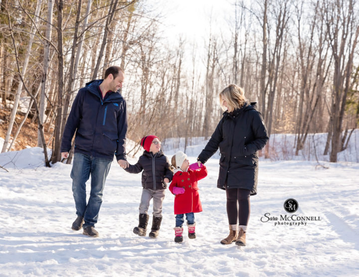 Winter in Ottawa: Family Photos