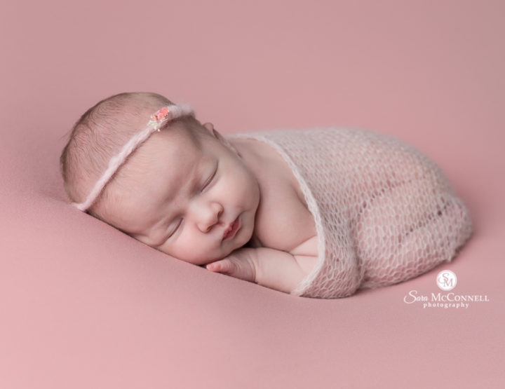 Ottawa Newborn Photographer | Pink