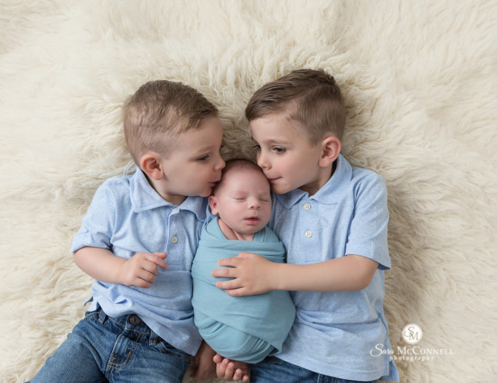 Three Brothers | Ottawa Newborn Photos