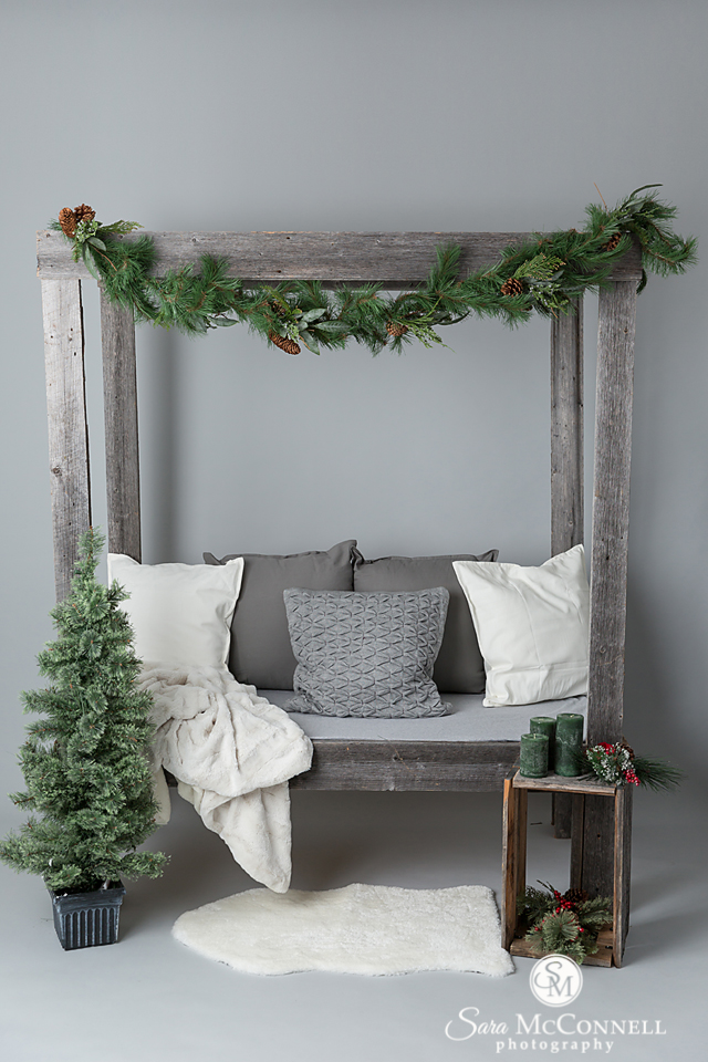 Holiday set by Sara McConnell Photography