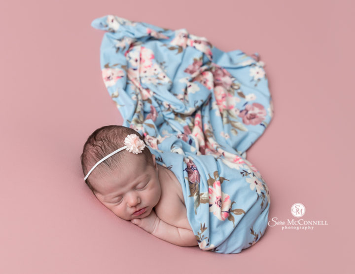 Ottawa Newborn Photographer | Floral