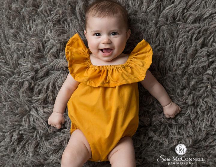Ottawa Baby Photos   4 Months Old