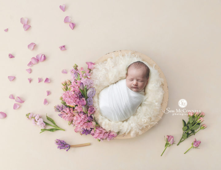 Ottawa Newborn Photos | Pinks, Purples and Florals