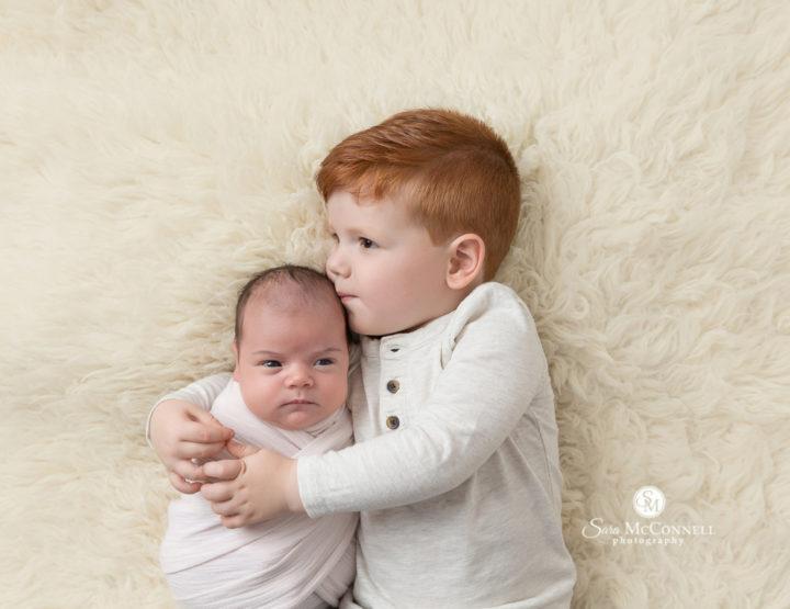 Ottawa Newborn Photographer | With Big Bro