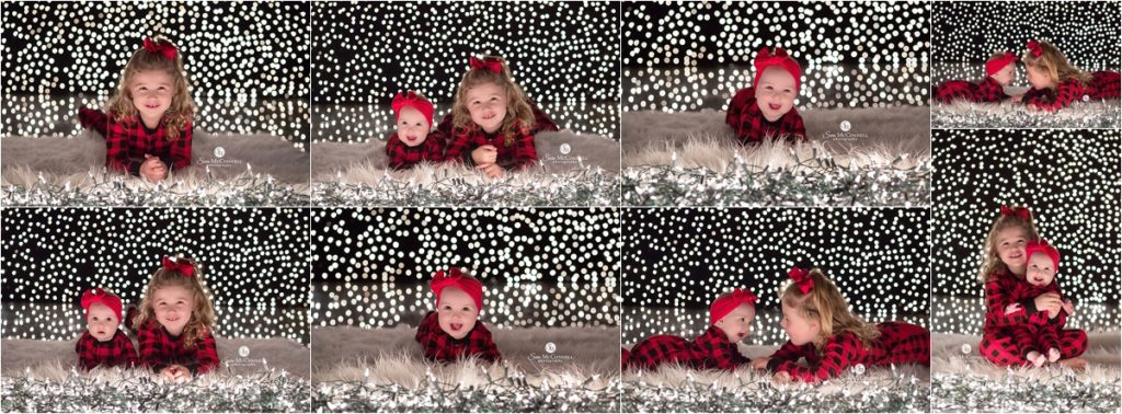 Ottawa holiday lights photo of two children