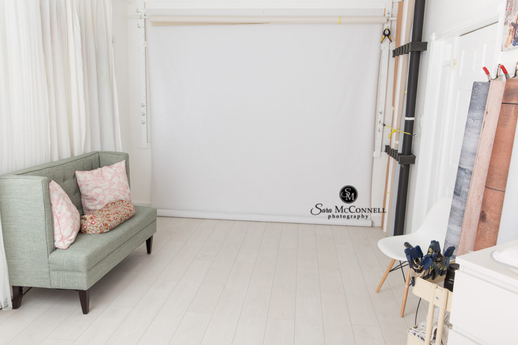 updated photography studio for sara mcconnell photography