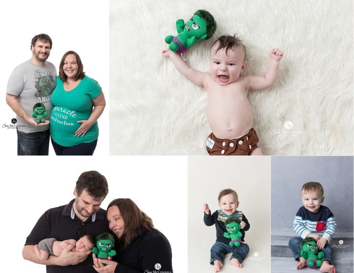Ottawa Baby Photographer | Hulk turns one!